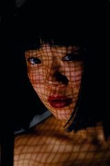 portrait with veil (Etienne Boissise) Tags: she leregard portrait veil face eyes girl