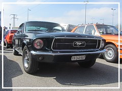 Ford Mustang Fastback (v8dub) Tags: ford mustang fastback schweiz suisse switzerland fribourg freiburg otm american muscle pkw pony voiture car wagen worldcars auto automobile automotive old oldtimer oldcar klassik classic collector