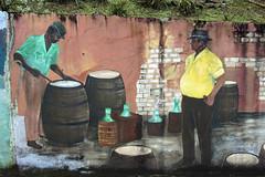 Folklore Wall Paintings Tortola (donachadhu) Tags: tortola britishvirginislands sonya77 wallpaintings artwork streetpaintings