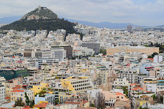 Mount Lycabettus and Athens (Nicolay Abril) Tags: athens greece αθηνα ελλάδα athènes grèce athen griechenland atene grecia atina yunanistan atenas