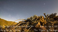 Day and Night In Anza-Borrego Desert State Park (slworking2) Tags: california californiastateparks anzaborrego anzaborregodesertstatepark milkyway stars sky desert timelapse