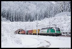 Steiermarkbahn 183 717, Böckstein 09-11-2016 (Henk Zwoferink) Tags: badgastein salzburg oostenrijk steiermarkbahn 183 717 stb siemens taurus tauern henk zwoferink es64u4 böckstein