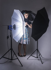 Day 3730 (evaxebra) Tags: wh wah umbrella strobe flash blackmilk