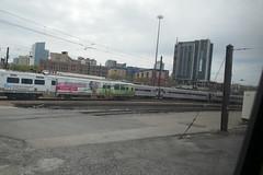 Silverliner V with Advertising (en tee gee) Tags: philadelphia commuter septa train cars advertising