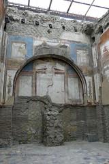 007 College (Hall) of the Augustals, Sacellum, Herculaneum (5) (tobeytravels) Tags: herculaneum collegeoftheaugustals hall