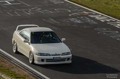 Honda Integra DC2 (Kurt Blythman) Tags: nurburgring nordeschliefe green hell ring track cars auto racing
