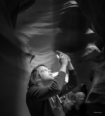 Mesmerized at Antelope Canyon-Arizona