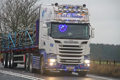 Scania R580 STC Haulage V18 STC (SR Photos Torksey) Tags: truck transport haulage hgv lorry lgv logistics road commercial vehicle freight traffic scania stc