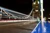 Tower Bridge (maurizio.merico) Tags: london ohhh night great britain england bridge light reflection bus car street road