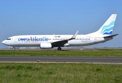 CS-TQU, Boeing 737-8K2(WL), 30646/1122, EuroAtlantic Airways, CDG/LFPG, 2017-04-09, on Bravo Loop, taxi to runway 09R/27L, flying for TACV. (alaindurandpatrick) Tags: cstqu 737 737ng 738 737800 boeing boeing737 boeing737ng boeing737800 jetliners airliners euroatlantic airlines cdg lfpg parisroissycdg airports aviationphotography 306461122 euroatlanticairways