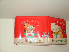 Hello Kitty and Re-ment (delashopgd) Tags: rement hello kitty sanrio miniature wallet purse red cute retro