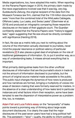 This is great stuff. Best thing written on leaks in ages. Read it. Now! via /r/WikiLeaks https://twitter.com/JulianAssange/status/855278428987117569 https://twitter.com/JulianAssange/status/855278428987117569https://www.reddit.com/r/WikiLeaks/comments/673 (#B4DBUG5) Tags: b4dbug5 shapeshifting 2017says