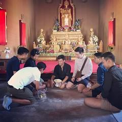 วัดที่ ๕ #วัดท่าไชยศิริ เป็น ๑ ใน ๓ วัดในประเทศไทย ที่มีพระประธาน เป็นพระยืน ปิดทริป วัดงามแห่ง #เพชรบุรี #amazingthailand