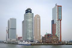 Rotterdam (Arnold van Wijk) Tags: city haven netherlands skyline buildings geotagged harbor rotterdam nederland stad architectuur gebouwen feijenoord nld katendrecht provinciezuidholland fujixt1 geo:lat=5190150555 geo:lon=447573108