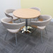 """73 - Meeting Room with Mollie Chairs with A47 Table • <a style=""""font-size:0.8em;"""" href=""""http://www.flickr.com/photos/61889077@N03/13563629083/"""" target=""""_blank"""">View on Flickr</a>"""