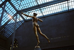 The MET (Kayla M Smith) Tags: newyorkcity film statue 35mm goddess diana met metropolitanmuseumofart