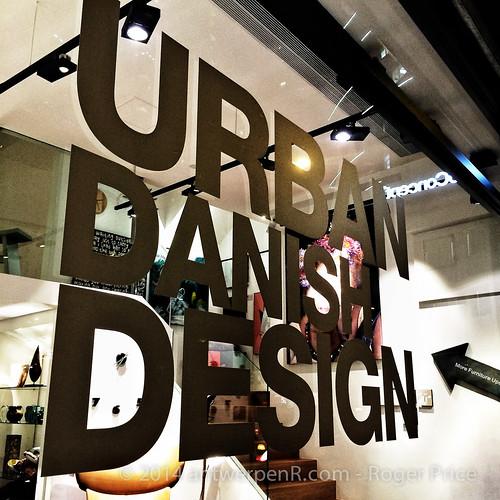 Urban Danish design - I think this is new...