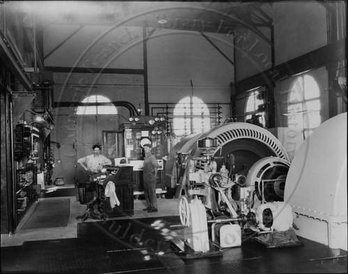 Photo - Boulder Hydro Interior, 1924