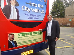 "Stephen Mosley MP visits Chester Stagecoach depot during Catch A Bus Week • <a style=""font-size:0.8em;"" href=""http://www.flickr.com/photos/51035458@N07/13902805098/"" target=""_blank"">View on Flickr</a>"
