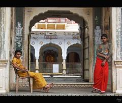 Galta,Jaipur (Parag Sharma) Tags: travel light portrait people color canon natural emotion atmosphere jaipur rajasthan