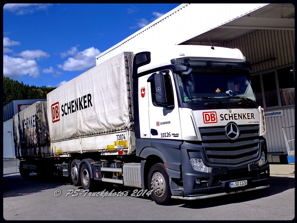 The World\'s Best Photos of actros and schenker - Flickr Hive Mind
