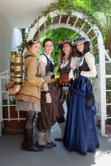 Gaslight Gathering 2014 (Mr. Muggles) Tags: california ladies women sandiego 4 jet pack victoriana convention gathering gaslight steampunk 2014