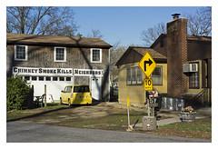 (ubik14) Tags: maryland baltimore railtrail glenburnie baltimoreandannapolistrail chimneysmokekillsneighbors