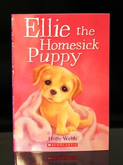 Ellie the Homesick Puppy (Vernon Barford School Library) Tags: new school fiction dog pet pets dogs animal animals puppy reading book moving high puppies labrador williams library libraries reads books super move retriever holly ellie read paperback cover junior novel labradorretriever covers bookcover pick middle anima vernon quick recent homesick picks bookcovers webb paperbacks novels fictional labradorretrievers sophy barford softcover vernonbarford softcovers humananimalrelationship superquickpicks superquickpick 9780545325738