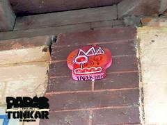 P1260479 (Pegasus & Co) Tags: urban streetart art colors face painting skull graffiti stencil paste arts picture dessin worldwide rue couleur tte artistes  urbain tarek crne    gomtrique  geometrik urbart artistical       menatworkgirl
