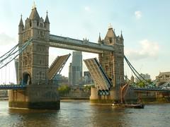 Traffic stopper (JuliaC2006) Tags: london towerbridge boat thamesbarge