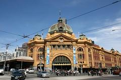 Flinders Street Station (Brian Aslak) Tags: street station gare australia melbourne victoria trainstation flindersstreetstation cbd flindersstreet rautatieasema jernbanestasjon