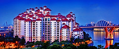Costa Rhu will be Sizzlin' with Excitement pretty soon! (williamcho) Tags: tourism singapore property condo condos afterdark pebblebay kallangriver costarhu gardensbythebay attractionbluehour
