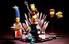 Game of Homes (Legoagogo) Tags: lego bart simpsons homer marge chichester moc legoagogo