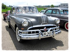 American Live, Luterbach 04. 05. 2014 (v8dub) Tags: auto old classic car schweiz switzerland automobile suisse live meeting automotive voiture american oldtimer pontiac oldcar collector 1951 wagen luterbach pkw klassik worldcars