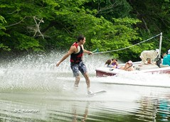 wakeboard (guido1515) Tags: county trees summer dog lake ski green sports water colors creek swim river fun boat wake minolta sony alabama walker wakeboard mastercraft parrish 2014 inboard slta57