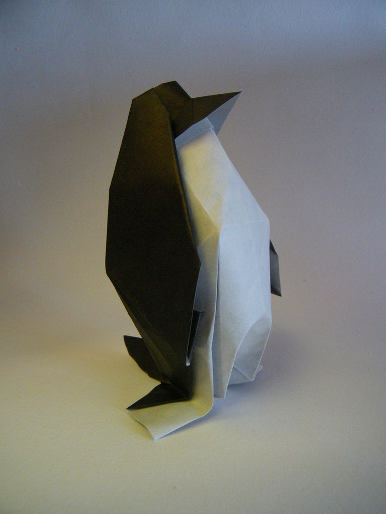 Penguin Jo Nakashima RuiRoda Tags Origami Papiroflexia Pinguim