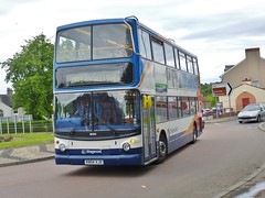 18129 - KN04 XJD (Cammies Transport Photography) Tags: road bus coach fife service alexander dennis stagecoach admiralty trident rosyth in not 18129 kn04xjd