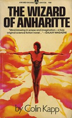 Kapp, Colin - The Wizard Of Anharitte (exaquint) Tags: scifi bookcover