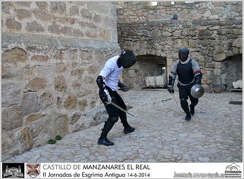 II Jornadas Esgrima Antigua - Castillo de Manzanares El Real