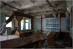 Duga-3 Control Room (Peter Heuts) Tags: photography woodpecker fotografie object secret military sony ukraine full peter 99 soviet frame alpha russian radar zone chernobyl exclusion oth tsjernobyl a99 oekraïne overthehorizon дуга heuts peterheuts duga3 russianwoodpecker doega3 дуга3