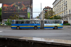 Stolichen Elektrotransport 2611 (Howard_Pulling) Tags: camera photo nikon photos sofia may picture bulgaria trolleybus bulgarian 2013 d5100