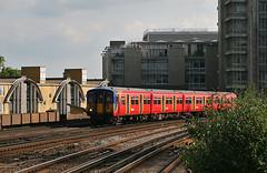 5903_Vauxhall_210614 (Bingley Hall) Tags: england train suburban britain transport rail railway transportation commuter emu southwesttrains vauxhall swt thirdrail 5903 brel electricmultipleunit 750v class455