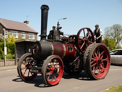 """Ruston & Hornsby traction engine No. 115100 """"Hildary"""" (Ben Matthews1992) Tags: road old vintage general derbyshire rally traction engine run historic steam machinery preserved 1922 purpose twat trial hornsby ruston agricultural assessment the 2014 crich wirksworth hildary 115100 do2953"""