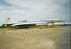 CCCP-77115 Tupolev TU-144D Aeroflot (Dave Russell (1.5 million views thanks)) Tags: institute research flight gromov 144d tu144d zhukovsky transport vehicle soviet 77155 cccp stored moscow outdoor russian russia airliner jetliner jet aeroplane delta airplane supersonic aircraft cccp77115 tupolev tu144 144 super sonic aeroflot classic
