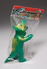 DINO Protoceratops (green) II (ButaNoHana for All!) Tags: toys dino dinosaur header packaging dinos ohashi buta shigenobu sofubi protoceratops oohashi ohhashi butanohana ぶたのはな shigenobuohashi 恐竜シリーズ ソフト焼き玩具