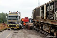 073. 58022 loading at Crewe Diesel. 30-May-14; Ref-D104-P073 (paulfuller128) Tags: train ale class crewe locomotive bone scrap 58 mainline 58022 dmud c58lg