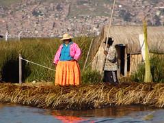Uros people - Floating islands on the Titicaca lake (Olivier GRYSON) Tags: peru titicaca machu picchu prou