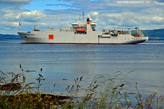 Rene Descartes (Zak355) Tags: french scotland riverclyde boat ship vessel fibreoptic kilchattanbay rothesay workboat isleofbute renedescartes cablelayer