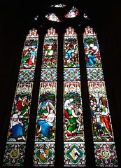 Stirling, Church of the Holy Rude, Scotland (Glass Angel) Tags: stirling scotland stainedglasswindows williamwailes