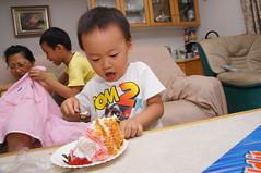 DSC00656 () Tags: birthday family kids zeiss happy sony birth taiwan       a55  slta55v anlong77